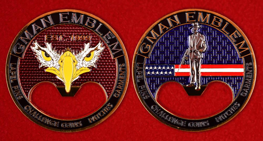 Gman Emblem Promotional Challenge Coin