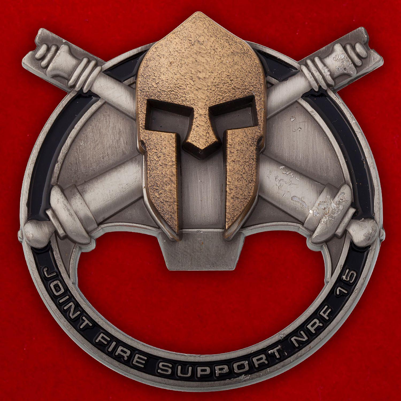 Челлендж коин-открывалка 15-й объединенной группы огневой поддержки Сил быстрого реагирования НАТО