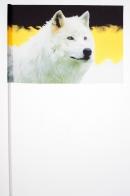 Имперский флажок на палочке «Волк»