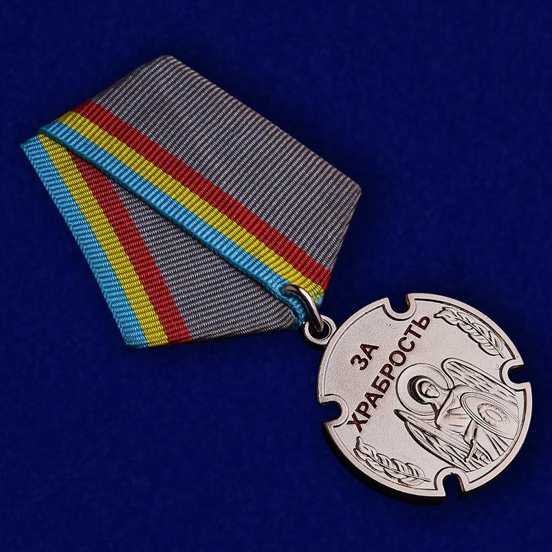 """Казачья медаль """"За храбрость"""" -внешний вид"""