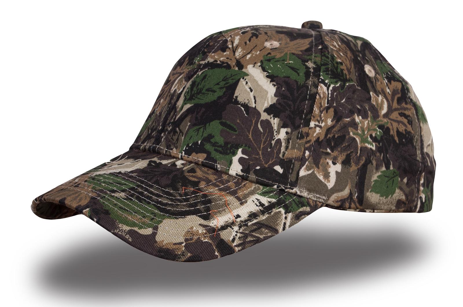 Заказывайте кепки с камуфляжем лес с доставкой в ваш город