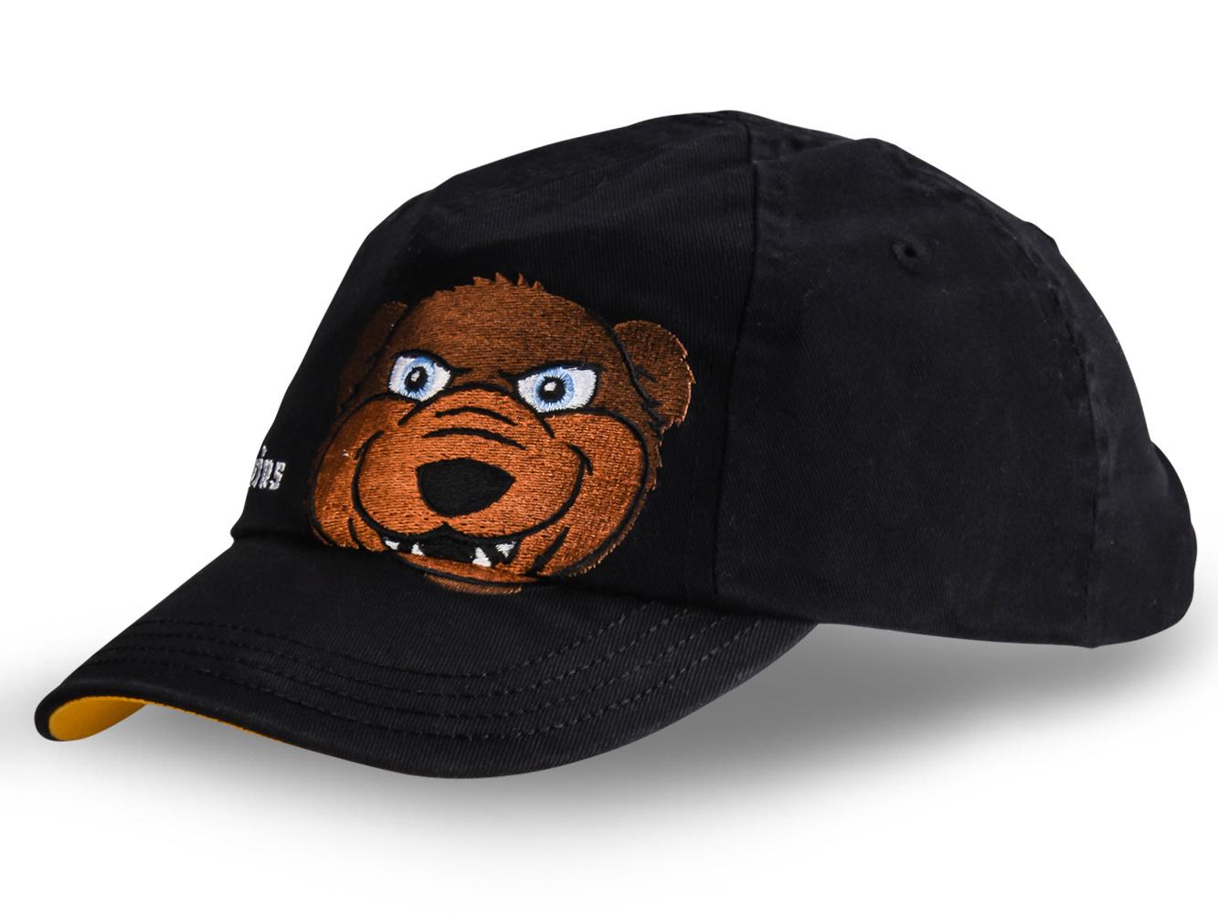 Кепка с медведем - купить в интернет-магазине с доставкой