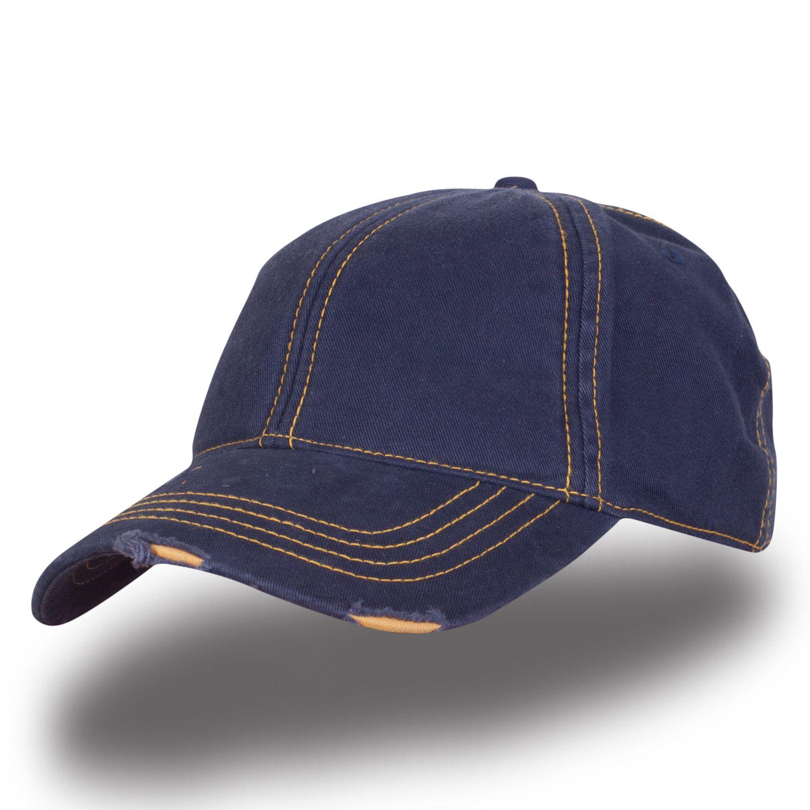 Кепка темно-синяя - купить в интернет-магазине с доставкой
