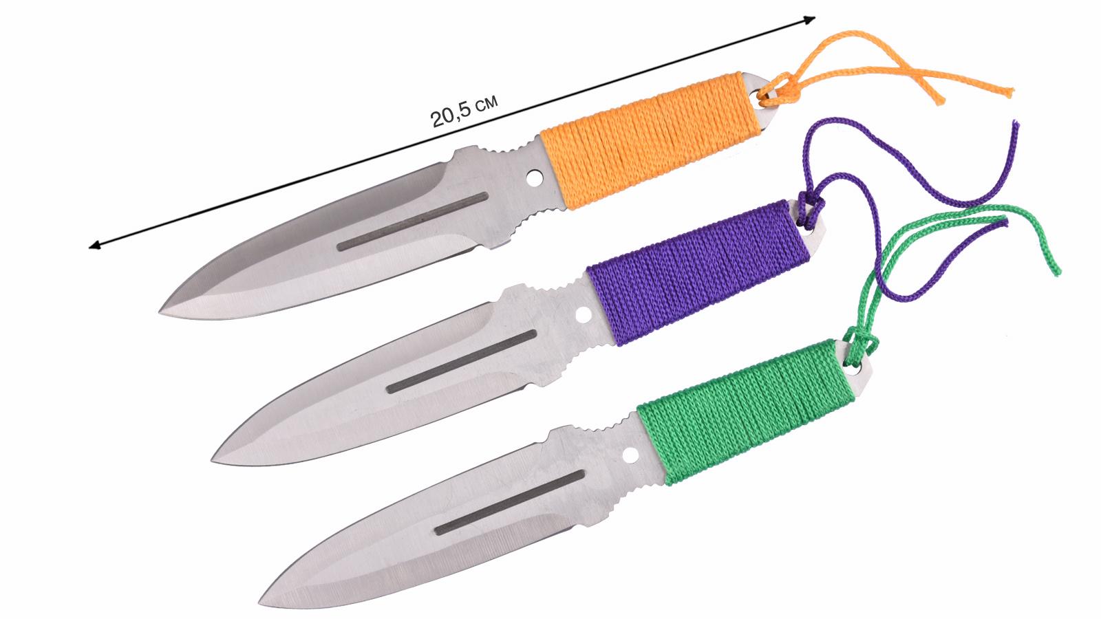 Как сделать метательный ножи