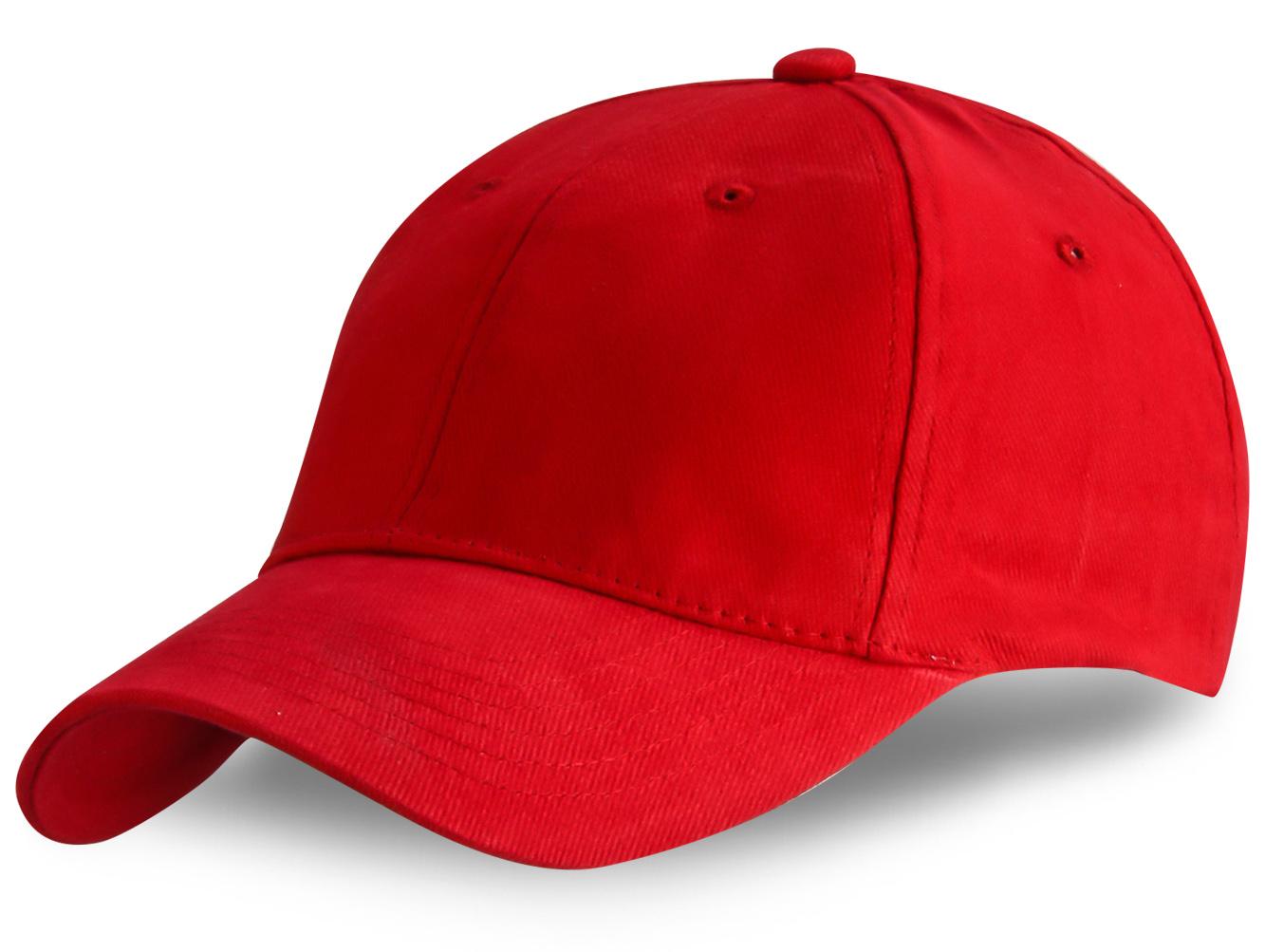 Красная бейсболка - с доставкой