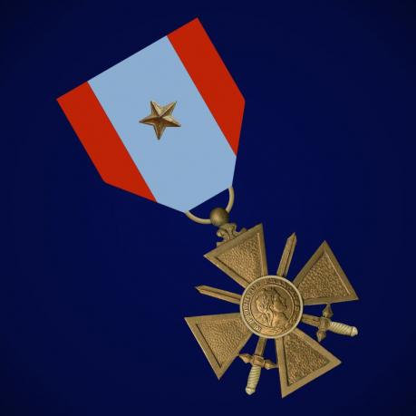 Крест Участника внешних операций (Франция)