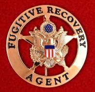 Оригинальный жетон Агента по розыску беглых преступников