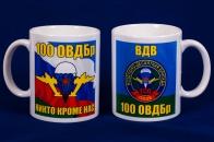 Кружка «100 отдельная воздушно-десантная бригада ВДВ»