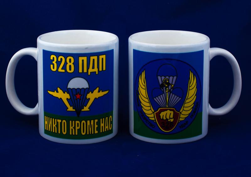 Кружка «328 парашютно-десантный полк ВДВ»