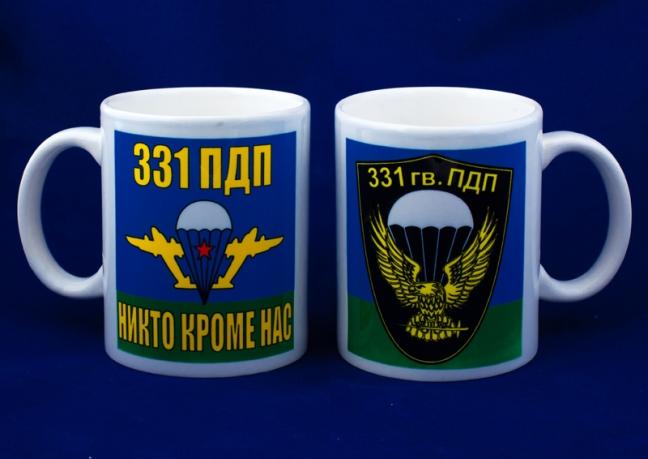 Кружка «331 парашютно-десантный полк ВДВ»