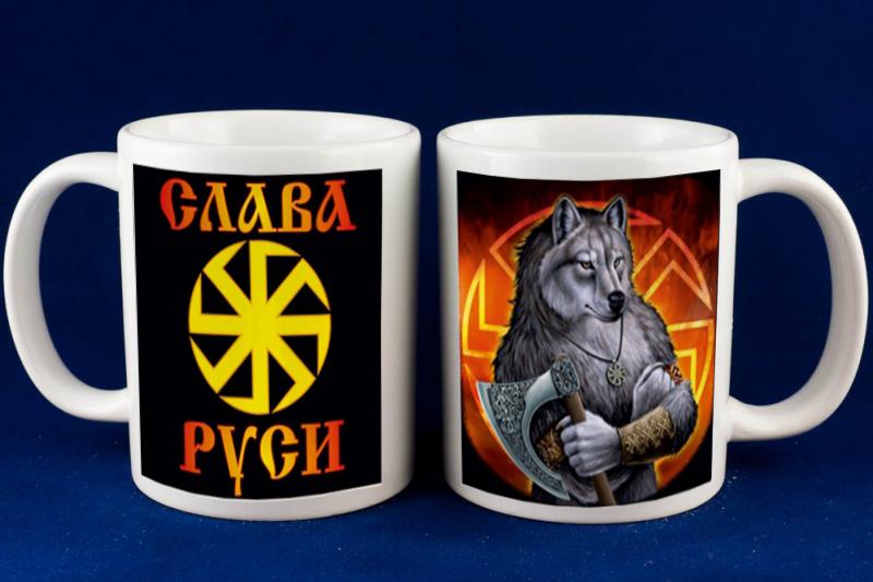 Подарок с символикой волка 33