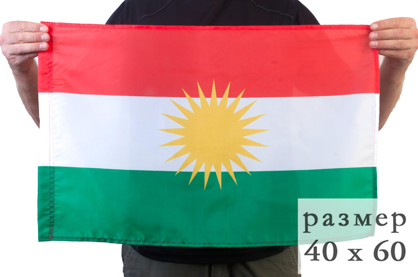 Курдский флаг 40x60