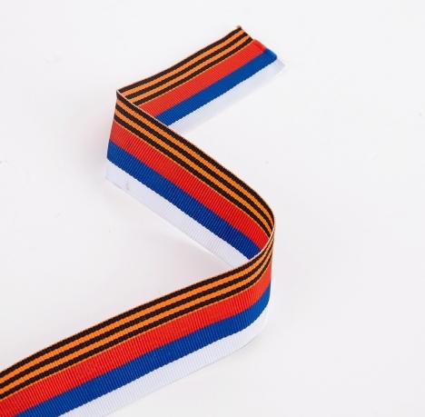 Ленточка Воинской Славы (3,5x50 см)