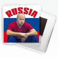 """Магнит с Емельяненко """"Russia"""""""