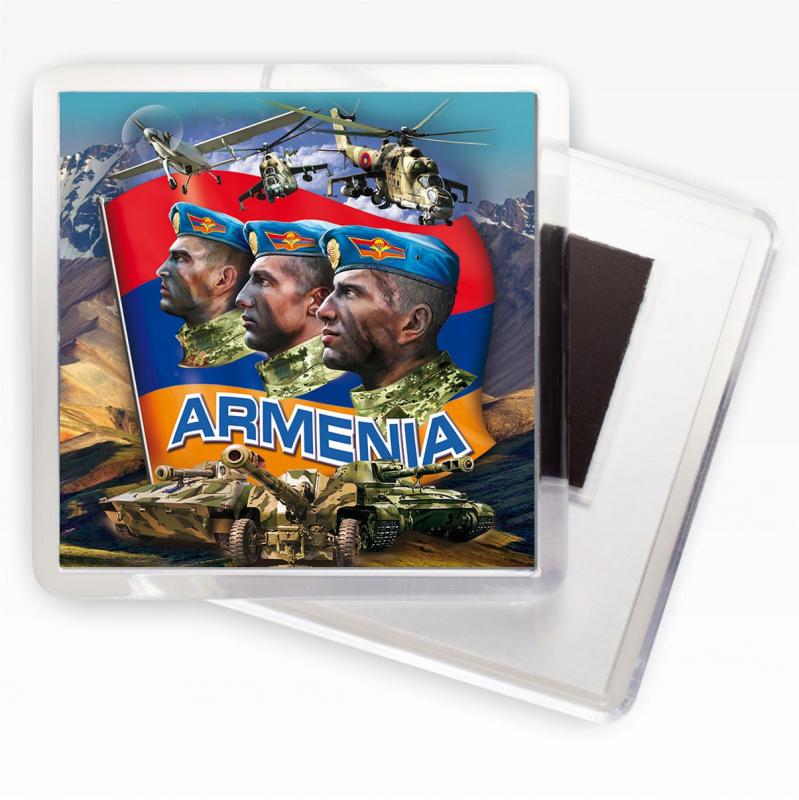 """Заказать магниты """"Войска Армении"""" в Военпро выгодно и быстро"""