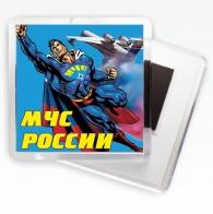 Магнитик «МЧС Супермен»