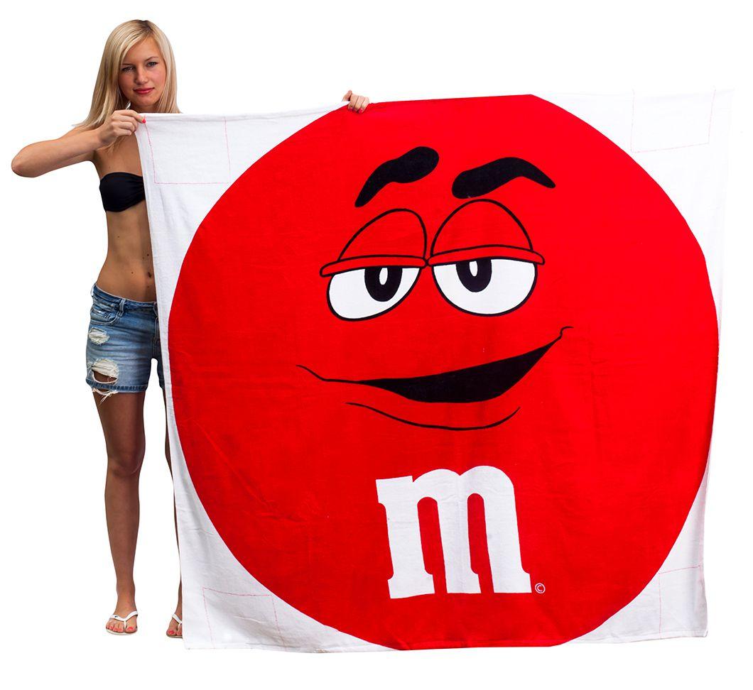 Махровое полотенце Красный