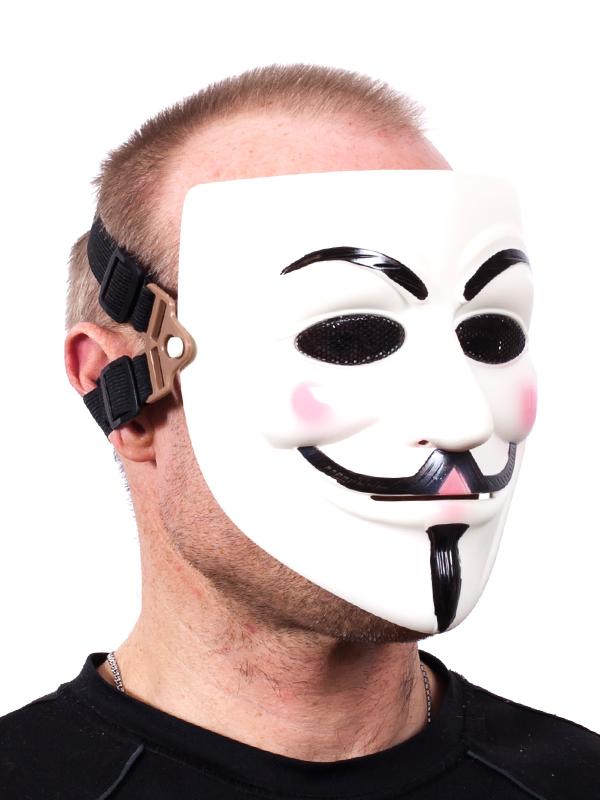 Маска Анонимуса Гая Фокса