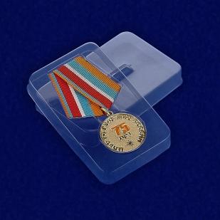Футляр к медали 75 лет Гражданской обороне МЧС