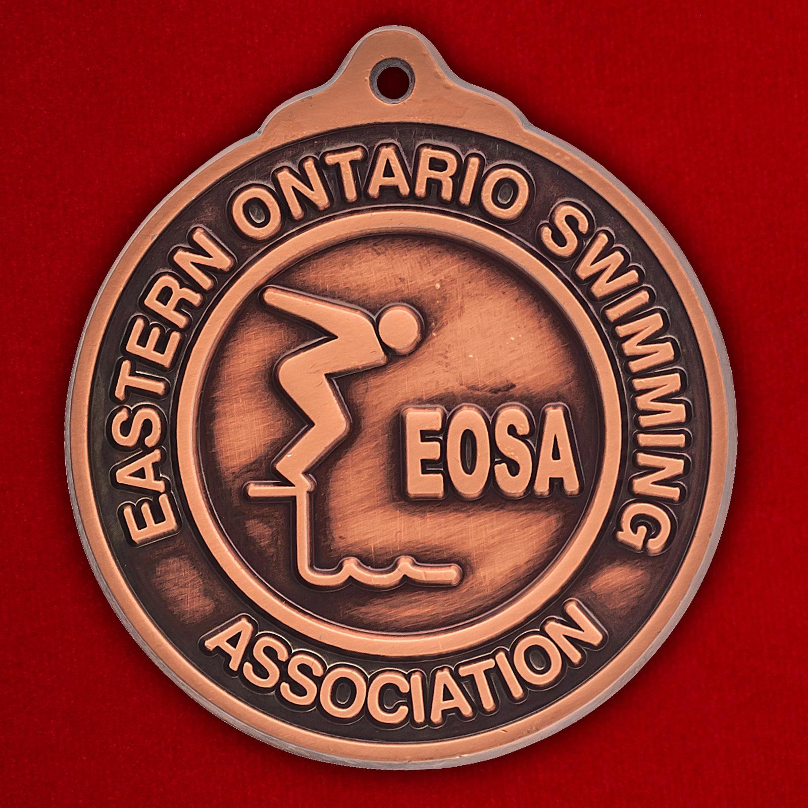 "Медаль ""Ассоциация плавания провинции Онтарио. Канада"""