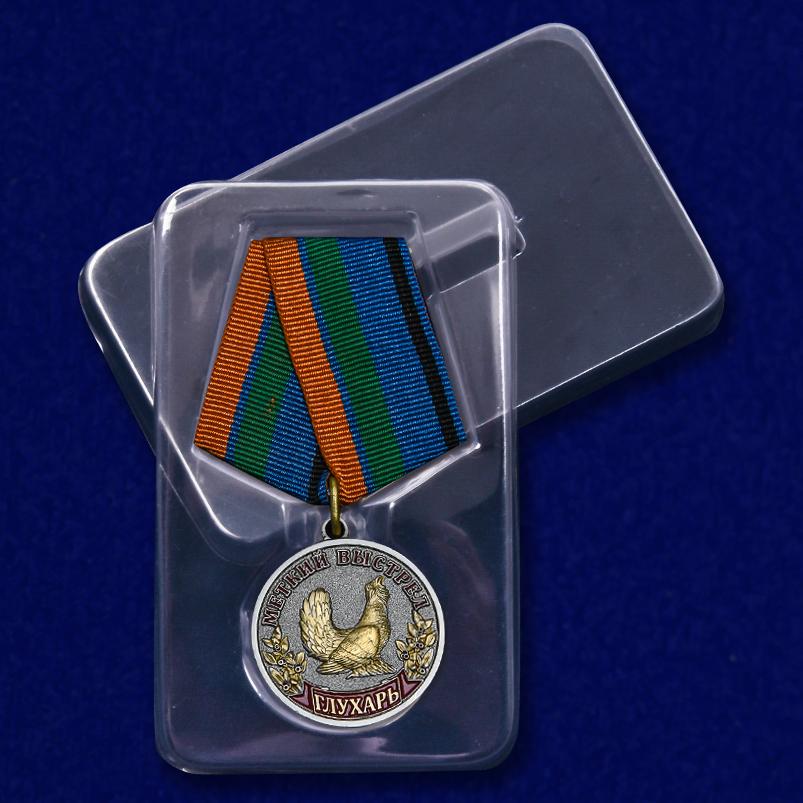 """Медаль """"Глухарь"""" с доставкой"""