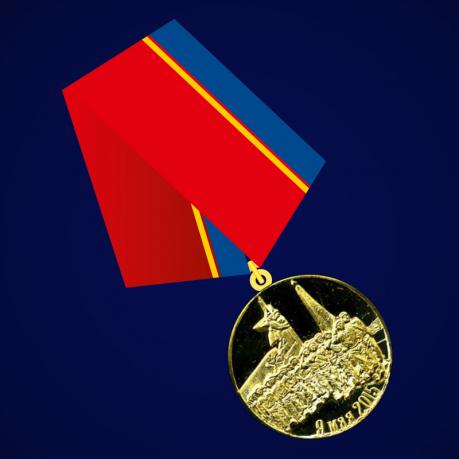 "Медаль МЧС ДНР ""Участнику первого парада войск ДНР"""