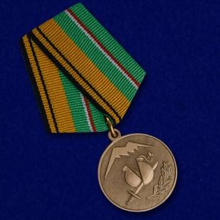 """Купить медаль """"Участнику разминирования в Чеченской Республике и Республике Ингушетия"""""""