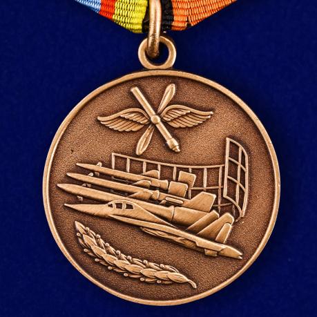 Медаль МО РФ «За службу в Военно-воздушных силах»