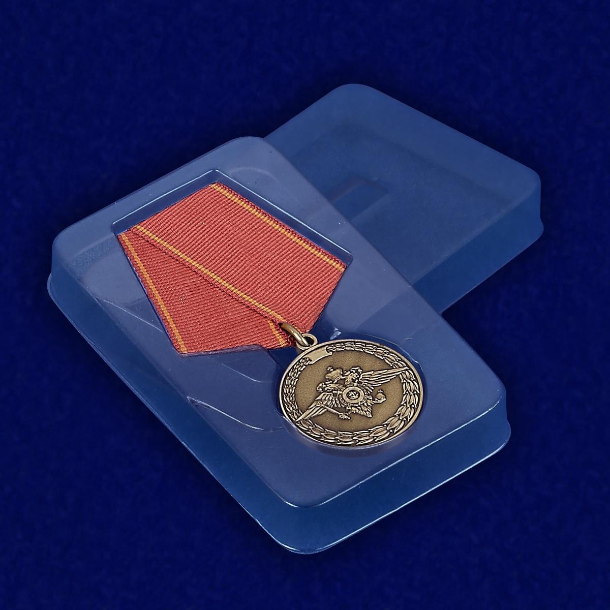 Футляр к медали «За воинскую доблесть» (МВД)