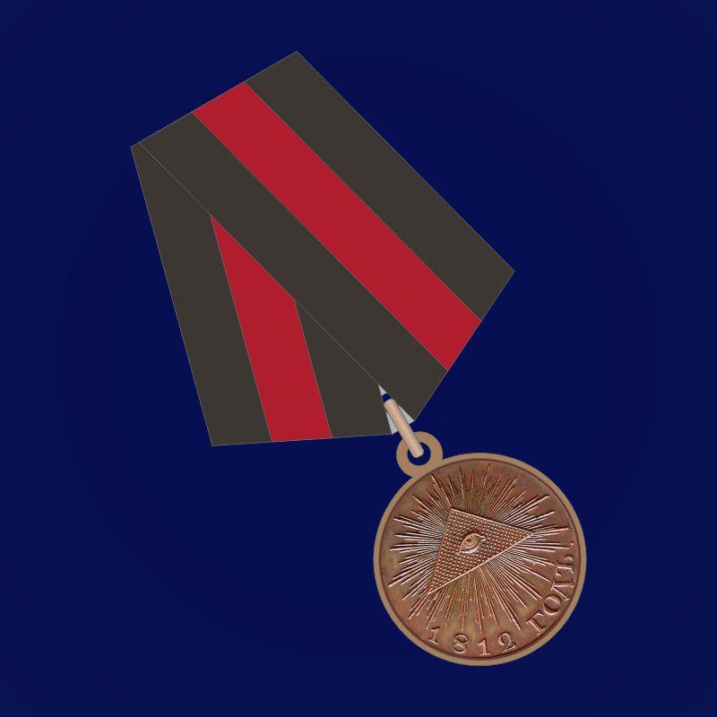 """Медаль """"В память Отечественной войны 1812 года"""" (бронза)"""