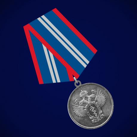 Медаль ФСКН «За отличие в службе в органах наркоконтроля» 2 степени