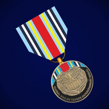 """Медаль """"За службу в экспедиционных войсках глобальной войны с терроризмом"""" (США)"""