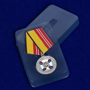 Медаль «За воинскую доблесть» 2 степень - в футляре