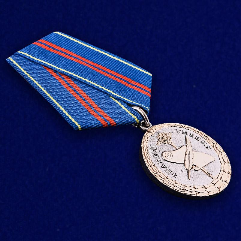 Медаль МВД России «За заслуги в управленческой деятельности» 2 степени - общий вид