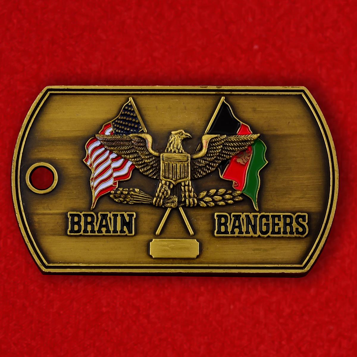 "Медальон  ВС США ""За службу в Афганистане 2012-2013"""