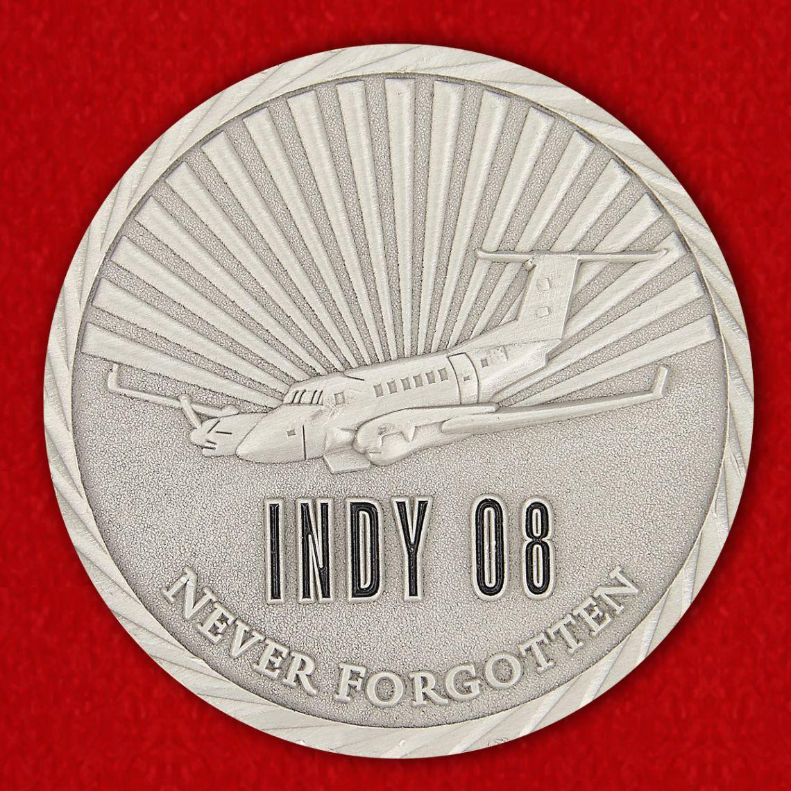 Memory Сrew INDY 08 Challenge Coin