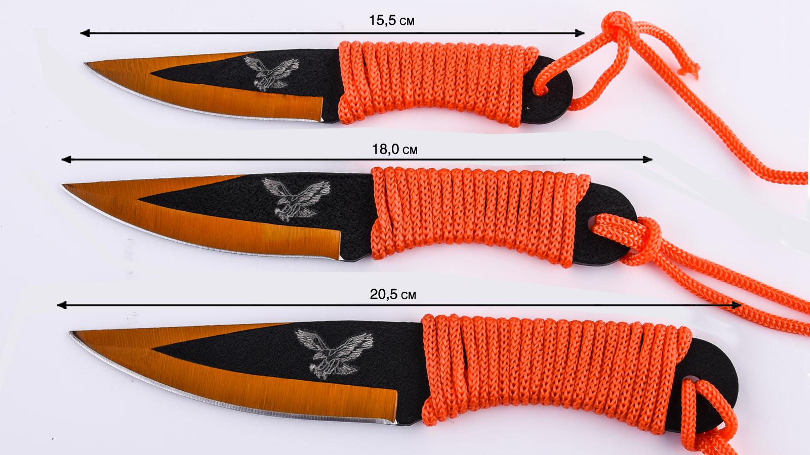 Метательные ножи для спорта - паракорд