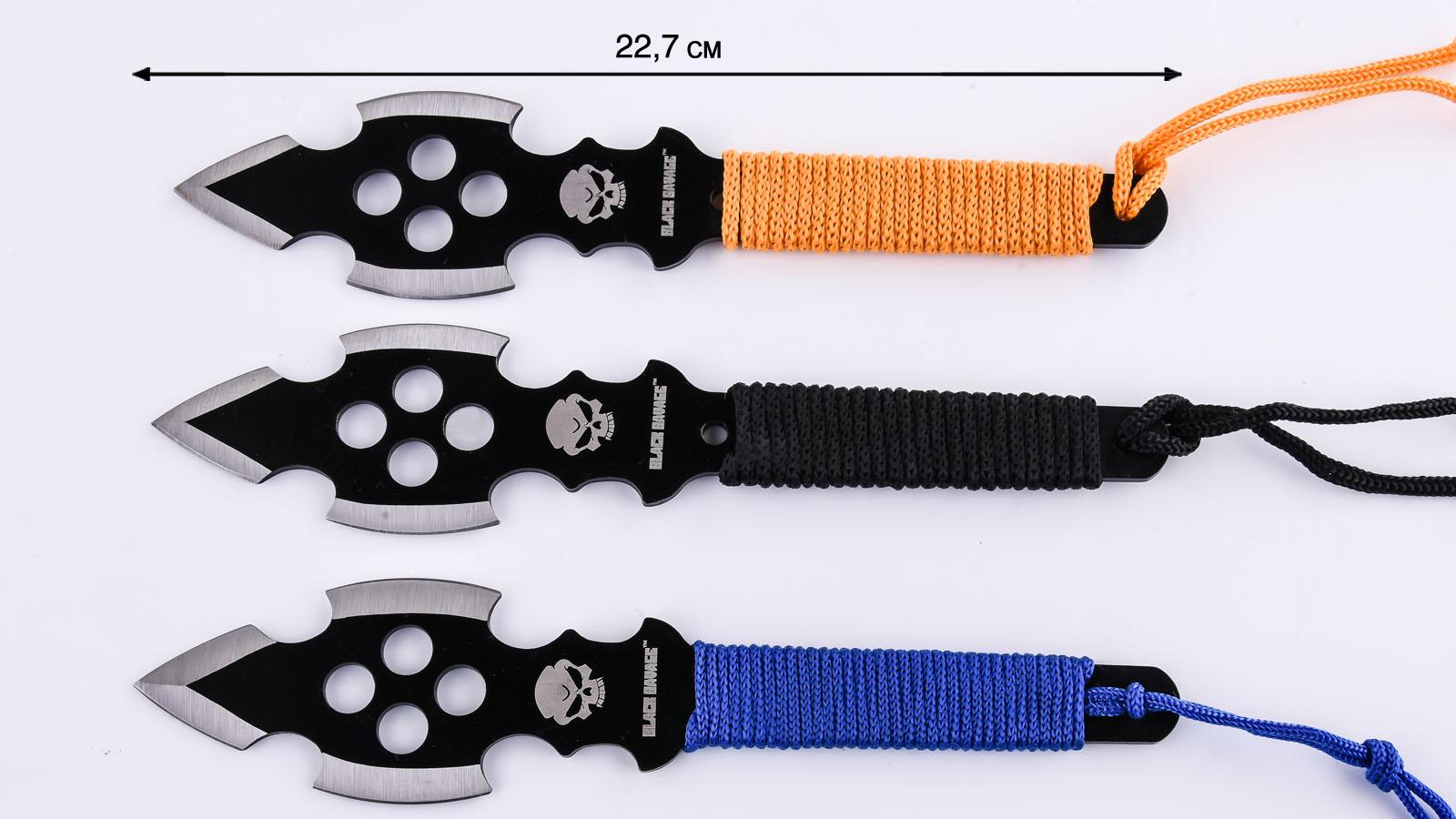 Купить метательные ножи Black Savage