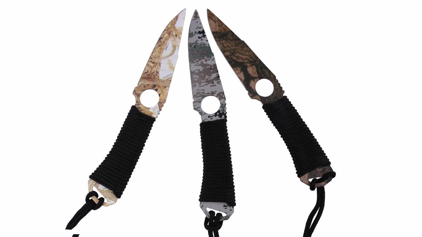 Заказать метательные ножи Камуфляж