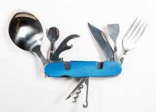 Многофункциональный складной нож (№43)
