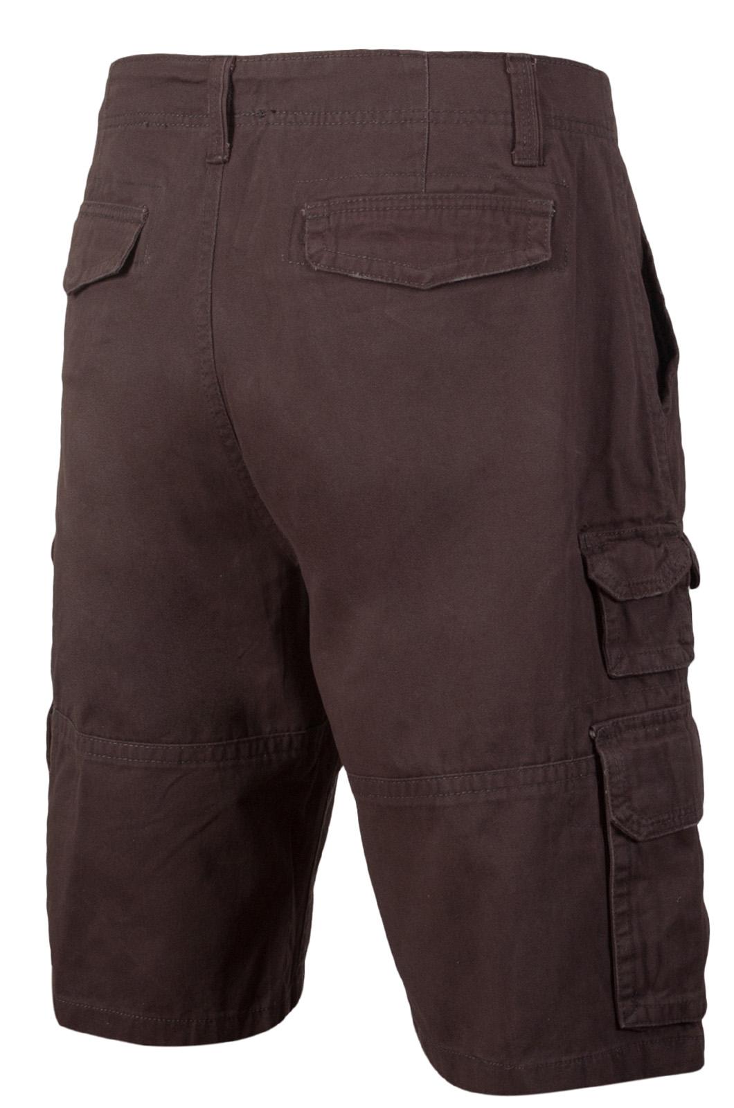 Модные коричневые шорты - купить с доставкой