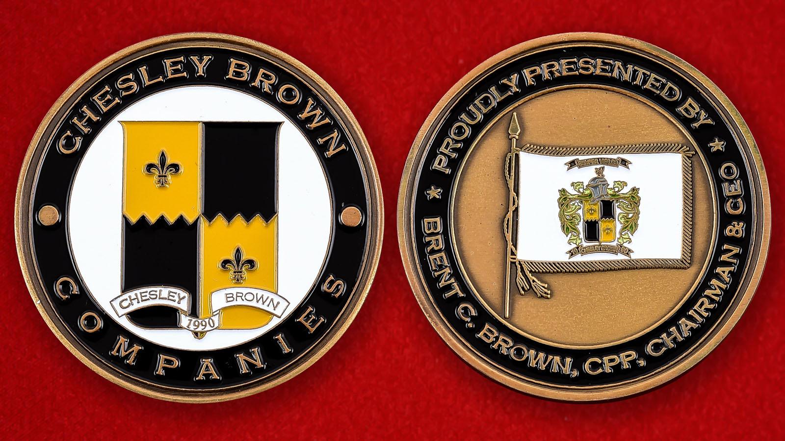 """Монета США """"Компания Сhesley Brown"""""""
