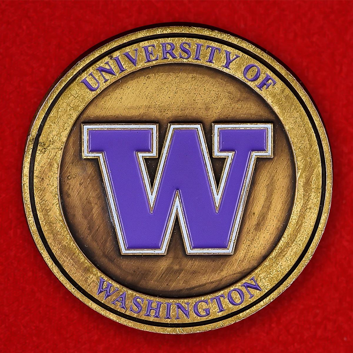 """Монета США """"Центр информации и обеспечения кибербезопасности Вашингтонского университета"""""""