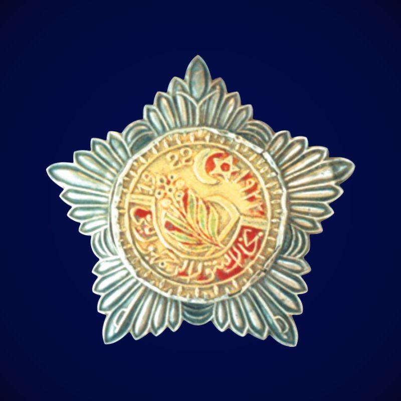 Муляж Ордена Красного полумесяца Бухарской НСР 1 степени