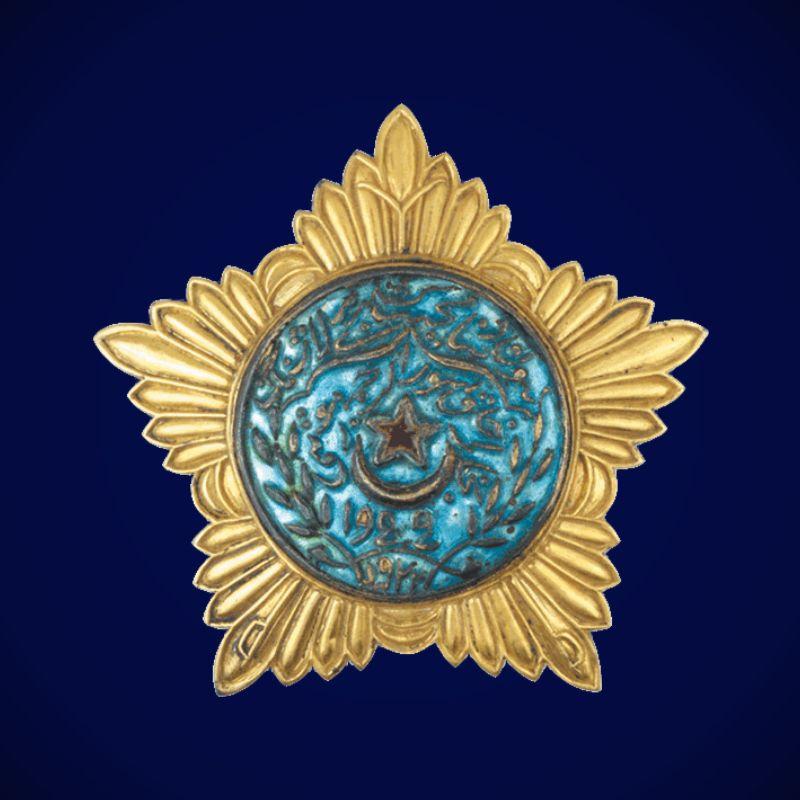 Муляж Ордена Красной звезды Бухарской НСР 1 степени