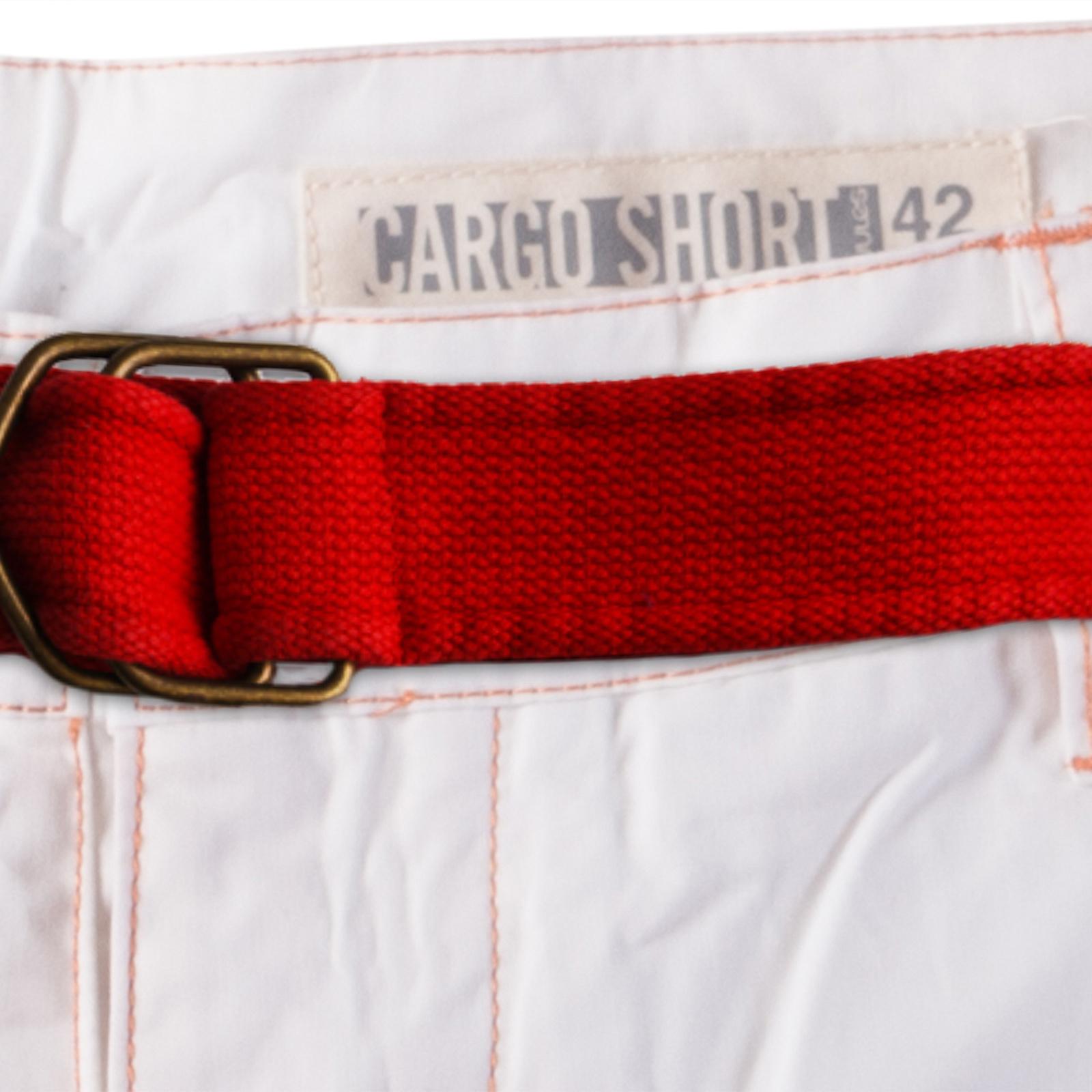 Заказать мужские белые шорты оптом