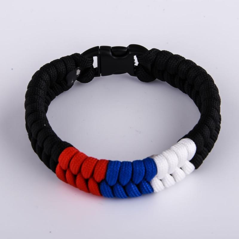 Купить мужской браслет из шнура с доставкой по всей стране и за рубеж