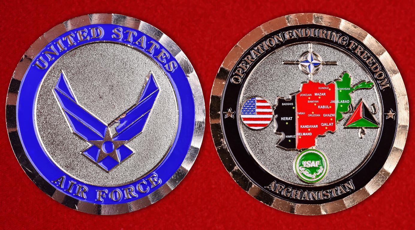 """Наградной знак ВВС США """"Операция Несокрушимая свобода"""""""