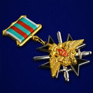 Знак «За службу в Таджикистане» ФПС-вид под углом