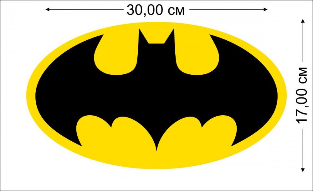Купить наклейки Бэтмен на авто по символической цене в Военпро